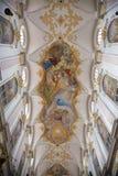 Интерьер собора St Peter в Мюнхене Стоковые Фотографии RF