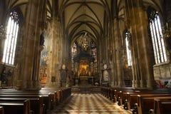 Интерьер собора St Stephen вена Австралии Стоковые Фото