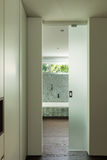 Интерьер современного дома, ванной комнаты Стоковое Фото