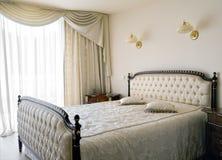 интерьер спальни Стоковая Фотография