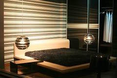 интерьер спальни Стоковое Изображение RF