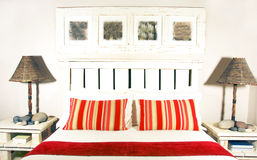 интерьер спальни Стоковые Фотографии RF
