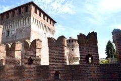Интерьер средневекового замка Soncino - Кремоны - Италии 03 Стоковые Изображения RF