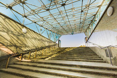 Интерьер станции метро стоковые фото
