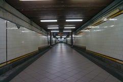 Интерьер станции улицы щепок Мельбурн, Австралия Стоковые Фотографии RF