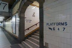Интерьер станции улицы щепок Мельбурн, Австралия Стоковая Фотография