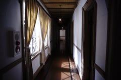 Интерьер старой гостиницы Mikasa стоковые изображения