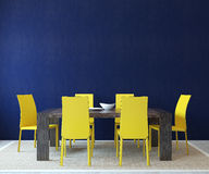 Интерьер столовой. Стоковое Изображение RF
