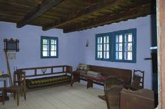 Интерьер с старой мебелью Стоковая Фотография
