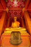 Интерьер тайского виска Стоковые Изображения RF