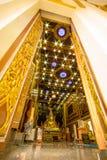 Интерьер тайского виска Стоковая Фотография