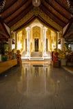 Интерьер тайского виска Стоковое Фото