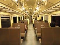 Интерьер тепловозного рельсового автобуса Стоковые Изображения RF