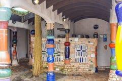 Интерьер туалета Hundertwasser Стоковая Фотография