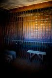 Интерьер тюрьмы Стоковая Фотография RF