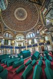 Интерьер усыпальницы султана Selim II стоковое изображение