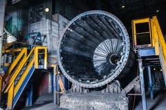 Интерьер фабрики мастерской стоковая фотография