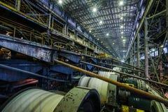 Интерьер фабрики мастерской Стоковые Фото