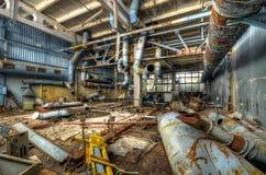 Интерьер фабрики Юпитера в Pripyat стоковые изображения