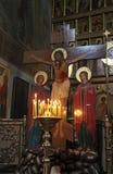 Интерьер христианской церков moscow Стоковая Фотография