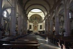 Интерьер церков Беллуно стоковая фотография rf