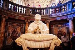 Интерьер церков майора St Mary, Santa Maria Maggiore полон произведений искусства Стоковые Изображения
