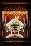 Интерьер церков майора St Mary, Santa Maria Maggiore полон произведений искусства Стоковое фото RF