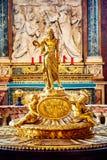 Интерьер церков майора St Mary, Santa Maria Maggiore полон произведений искусства Стоковая Фотография RF