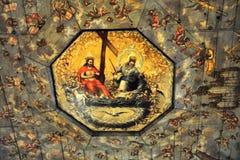 Интерьер церков мира - Swidnica Стоковые Фотографии RF