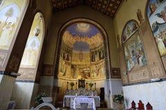 Интерьер церков посещения, Иерусалим Стоковое Изображение