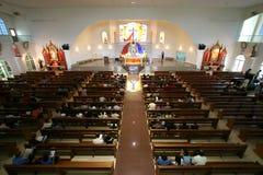 интерьер церков Стоковое Изображение RF