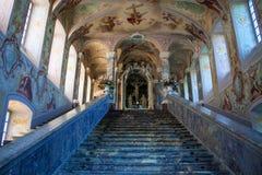 Интерьер церков Kreuzberg Стоковые Изображения