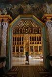 Интерьер церков церков Refectory St Sergius Стоковое Фото