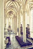 Интерьер церков St James, Брна, Моравии Стоковые Изображения RF