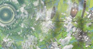 Интерьер цилиндра Oneil Стоковое Изображение RF