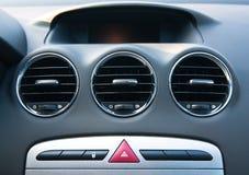 интерьер элемента автомобилей Стоковое Фото