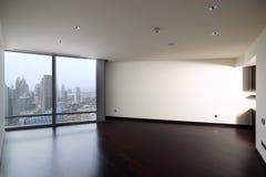 Интерьер яркой пустой комнаты Стоковое Изображение RF