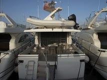 Интерьер яхты Стоковые Фото