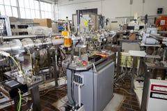 Интерьер ядерного акселератора лаборатори-ИОНА стоковое изображение rf