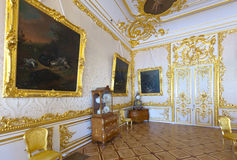 Интерьер дворца Кэтрины Стоковая Фотография
