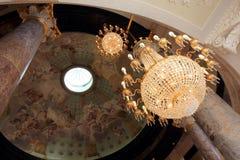 Интерьер дворца Biebrich Стоковая Фотография