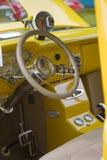 Интерьер 1955 приемистости Chevy 3100 Стоковая Фотография