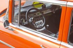 Интерьер 1955 Chevy Delray Стоковые Изображения RF