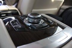 Интерьер BMW Стоковые Фотографии RF