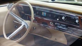 Интерьер Buick Riviera 1967 стоковое изображение