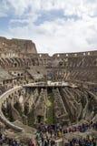 Интерьер Colosseum Рима Стоковое Изображение