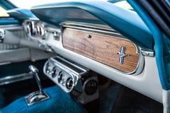 Интерьер Ford Мustang Стоковая Фотография