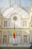 Интерьер Galeries Royales Свят-Hubert в центре Брюсселя Стоковое Изображение RF