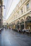 Интерьер Galeries Royales Свят-Hubert в центре Брюсселя Стоковые Фото