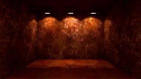 Интерьер Grunge стоковая фотография